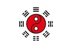 太极拳标志 免版税库存图片