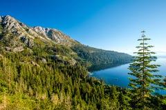 太浩湖风景-加利福尼亚,美国 免版税库存图片