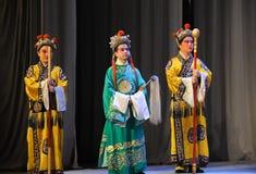 太监北京歌剧:对我的姘妇的告别 库存照片