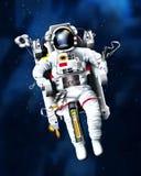 太空人 库存图片