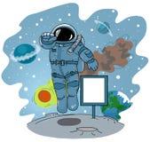 太空人 免版税库存照片
