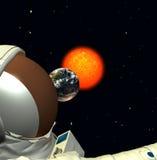 太空人5 免版税库存图片