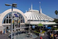 太空山明日世界华特・迪士尼世界奥兰多佛罗里达 库存照片