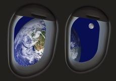 太空旅行 免版税库存照片