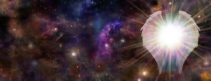 太空星群的监护人 免版税库存图片