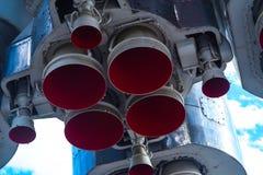 太空火箭引擎 免版税库存图片