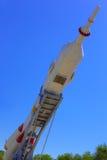 太空火箭沃斯托克 免版税图库摄影