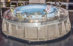 太空船外的舱口盖 免版税图库摄影