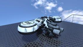 太空船 免版税图库摄影