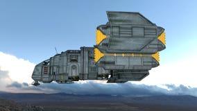 太空船 免版税库存图片