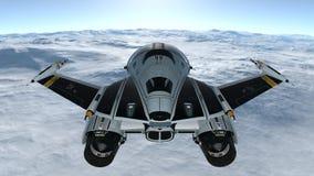 太空船 库存照片