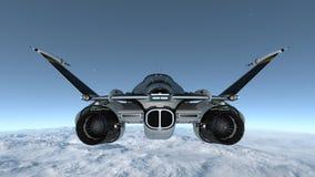 太空船 库存图片