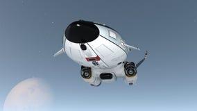 太空船 免版税库存照片