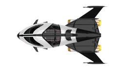 太空飞船宇宙探险家 向量例证
