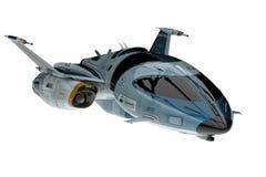 太空飞船宇宙探险家 库存例证