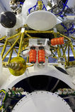 太空飞船模块,轨道航天器 免版税库存图片