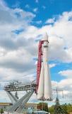 太空飞船沃斯托克模型  免版税图库摄影
