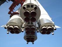 太空飞船的喷管 库存图片