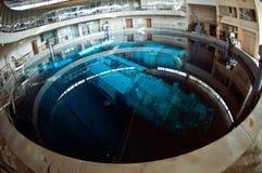 太空飞船水下的俄罗斯 免版税图库摄影