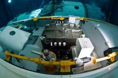 太空飞船水下的俄罗斯 免版税库存照片