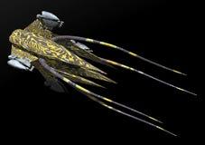 太空飞船 向量例证