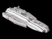 太空飞船 皇族释放例证
