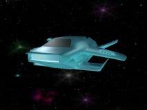 太空飞船 库存例证