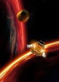 太空飞船 库存照片