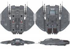 太空飞船 库存图片