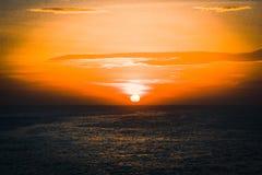 太阳上升科摩林角 免版税库存照片
