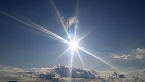 太阳为我们发光! 库存照片