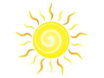 太阳传染媒介例证 库存图片