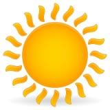 太阳传染媒介夹子艺术 库存照片