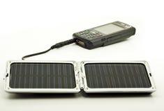 太阳充电器的次幂 库存图片