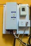 太阳充电控制器 免版税库存图片