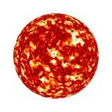 太阳光球 库存图片