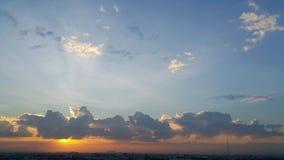 太阳光线影响 库存照片