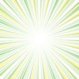 太阳光芒摘要设计 库存例证