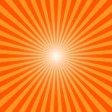 太阳光芒爆炸 皇族释放例证