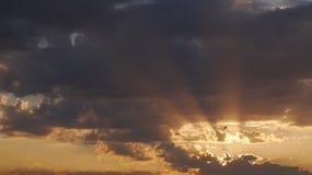 太阳光芒 免版税图库摄影