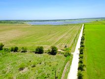 太阳农厂天线在奥斯汀,得克萨斯,美国 图库摄影