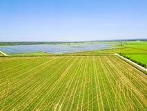 太阳农厂天线在奥斯汀,得克萨斯,美国 库存照片