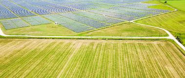太阳农厂天线在奥斯汀,得克萨斯,美国 免版税库存图片