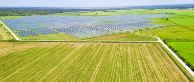 太阳农厂天线在奥斯汀,得克萨斯,美国 库存图片