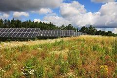 太阳动力火车细节  免版税库存图片