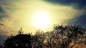 太阳升起摄影 库存照片