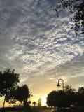 太阳升起 免版税图库摄影