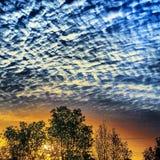 太阳和天空 免版税图库摄影