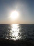 太阳和海运 图库摄影