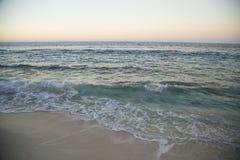 太阳和海运 库存照片